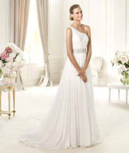 Grecian Wedding Dress.Grecian Inspired Wedding Dress Bridal Village Dress