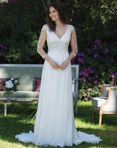 Grecian Inspired Wedding Dress Bridal Village Dress Designers