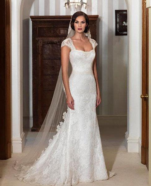Real Brides Suzanne Neville: Suzanne Neville Lucia Go Bridal