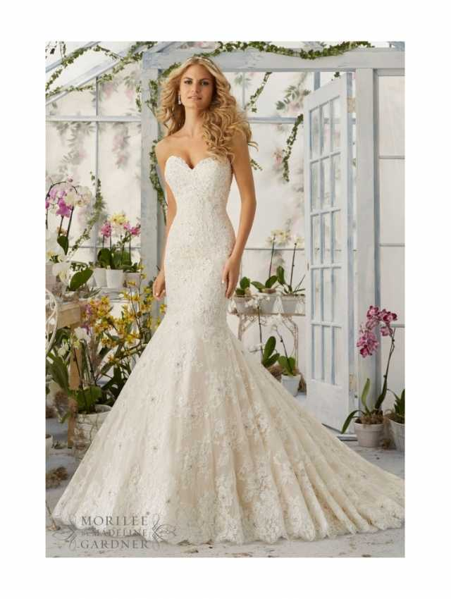 Mori Lee Strapless Wedding Dresses